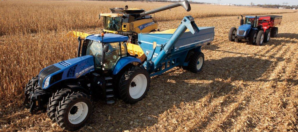 New Holland Harvest Equipment